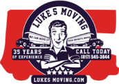 Luke's Moving Services, Hurst, TX logo