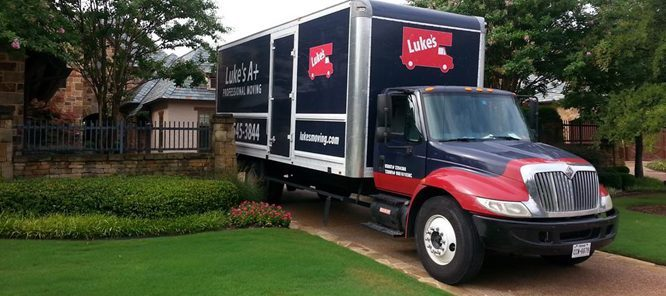 lukes moving services truck