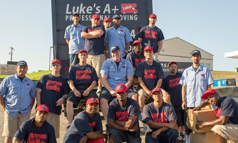 Luke's DFW Moving Team