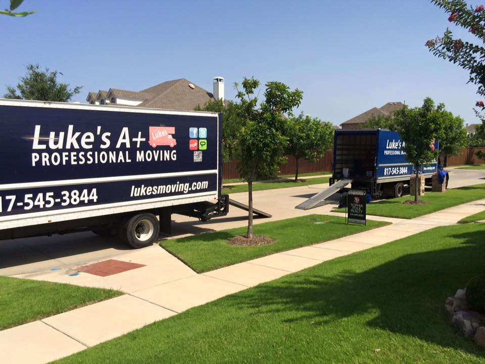 moving truck in Keller texas
