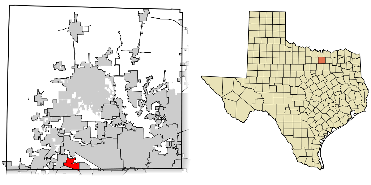 Map of Trophy Club TX